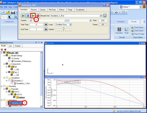 how to create beam deformation plot solidworks