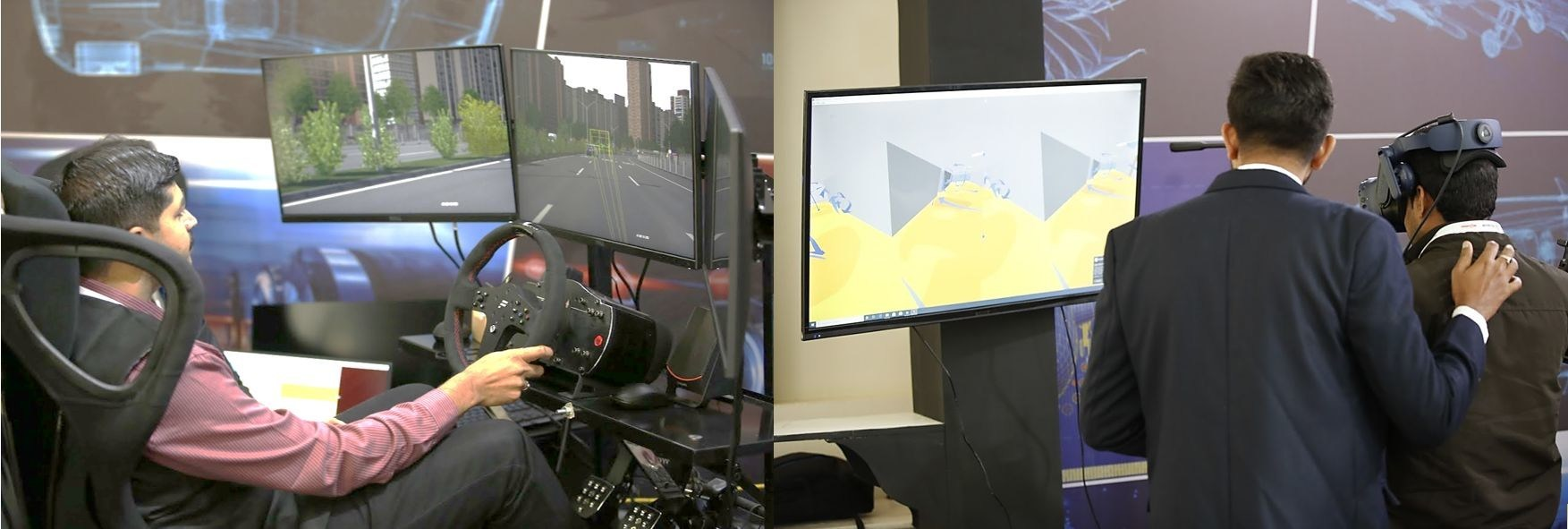 Hexagon & MSC Software showcases the power of autonomous mobility and immersive experience at the new India facility