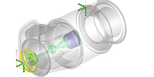 Efficient Rotordynamic Analysis using the Superelement Approach for an Aircraft Engine in MSC Nastran