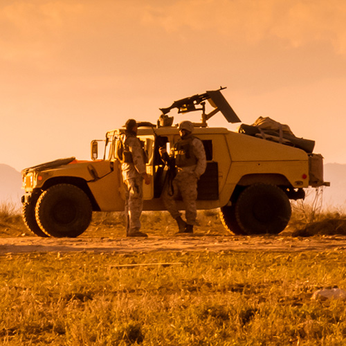Adams-EDEM Co-simulation for Predicting Military Vehicle Mobility on Soft Soil
