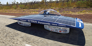 Trans-Continental Australian Outback world solar car CFD challenges