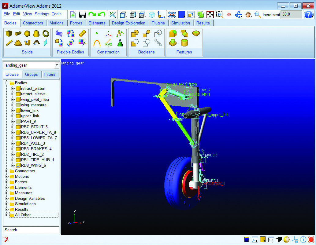 Adams - The Multibody Dynamics Simulation Solution